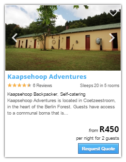 Kaapsehoop Accommodation1