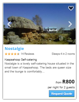 Kaapsehoop Accommodation2